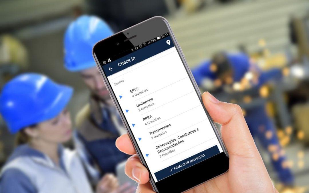 Aplicativo Checklist para Inspeção de Segurança do Trabalho – via Inspeção Pro