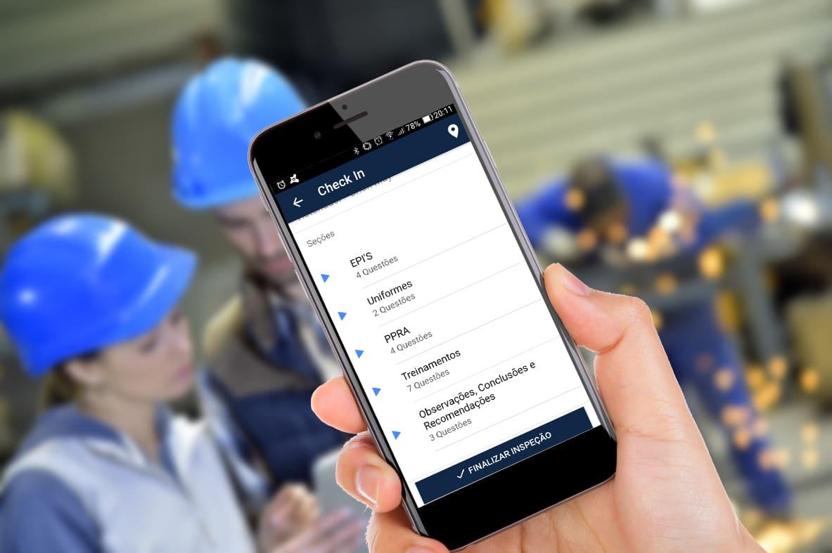 Aplicativo para Inspeção de Segurança do Trabalho